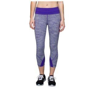 New Lululemon Run Inspire Crop Pants
